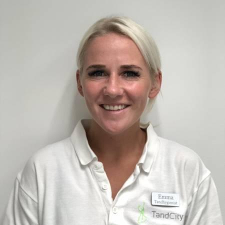 Emma Edvinsson, Tandhygienist